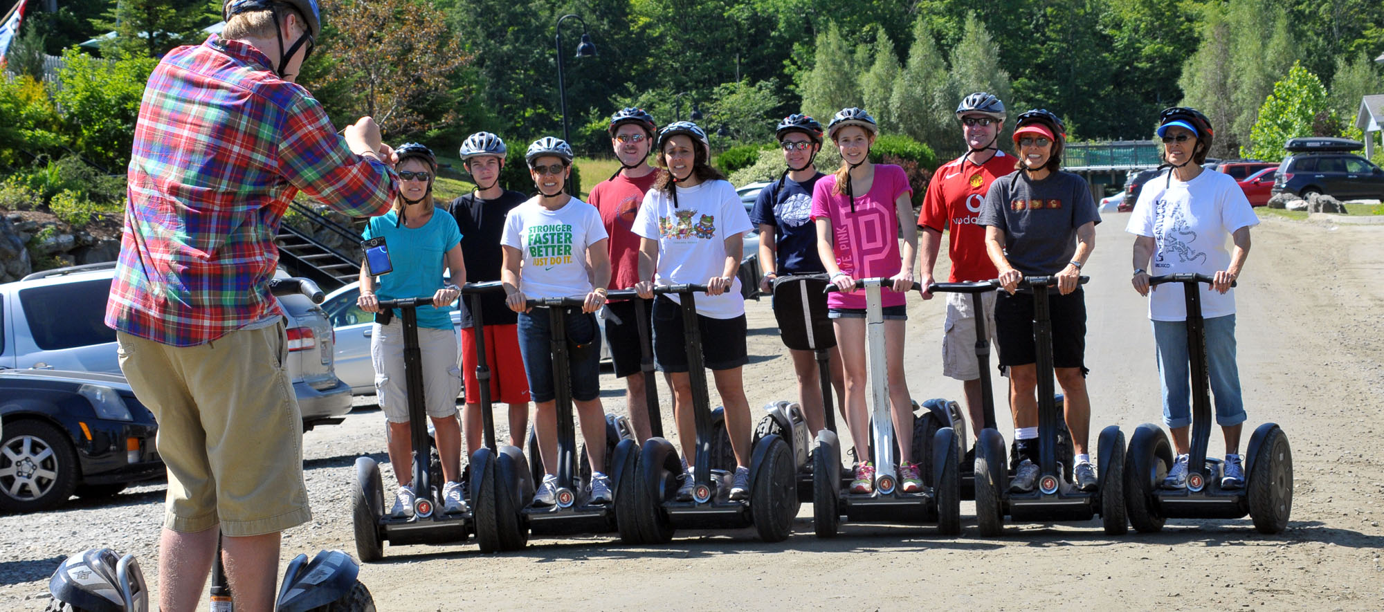 Group Photo Segway Tour